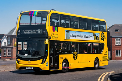 Yellow Buses (Double Deckers)