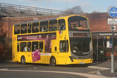 190, BL14LTJ, Yellow Buses, Bournemouth Interchange