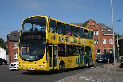 183, HF04JWD, Yellow Buses, Ashley Road, Boscombe.