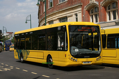 7, R7TYB, Yellow Buses, Gervis Place, Bournemouth