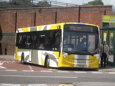31, YX61EMV, Yellow Buses, Bournemouth Interchange