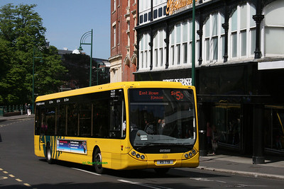 9, R9TYB, Yellow Buses, Gervis Place, Bournemouth