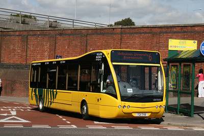 21, T21TYB, Yellow Buses, Bournemouth Travel Interchange