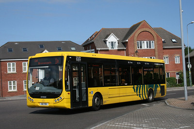 11, R11TYB, Yellow Buses, Ashley Road, Boscombe.