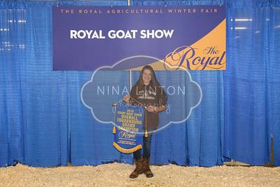 RAWF Dairy Goat Show Exhibitor Awards 2016