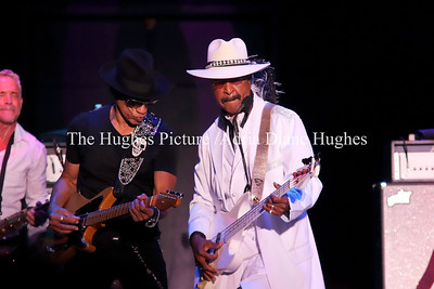 R&B legend, Larry Graham performed at the Dell Music Center 2017 Essence of Music Concert in Philadelphia, Pennsylvania