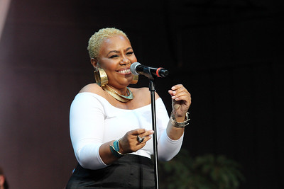R&B singer, Carol Riddick performs live at the Dell Music Center in Philadelphia, PA
