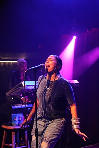 Melanie Fiona perfoms live at the Ardmore Music Hall in Philadelphia
