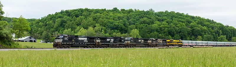 NS train O47 Ellis Run,VA