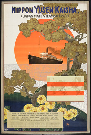 Nippon Yusen Kaisha = Japan Mail Steamship Co. [Steamship]