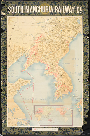 South Manchuria Railway Co. [Map of South Manchuria and Korea]