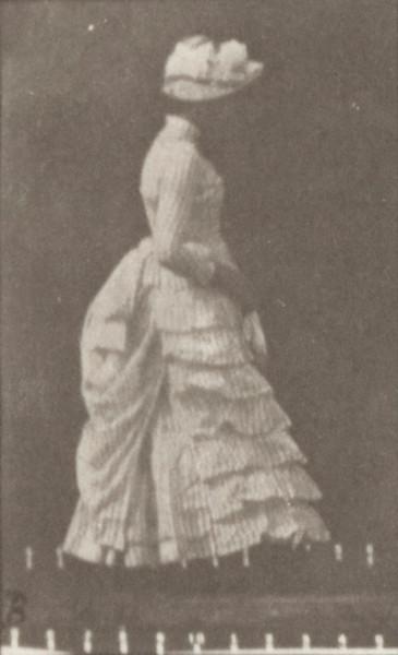 Woman lifting a handkerchief