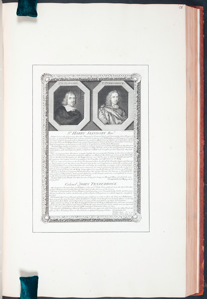 To the Right Honourable and my Noble Patron Edward Earl of Oxford, And Earl Mortimer, &c.&c. A collection of the works of G. Vertue of London, Engraver, the first chosen proofs from the engraved plates, Begining in the Year 1708, vol. 4