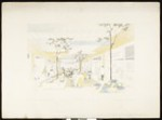 Mall development for Studio Village, [by] Carl Maston, [s.d.]