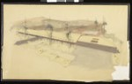 Artist's rendering of an unidentified building, [s.d.]