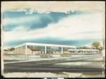 Artist's rendering of a Lucky Supermarket, [s.d.]
