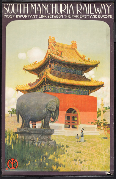 South Manchuria Railway: most important link between the far East and Europe [Temple]