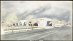 Artist's rendering of a Vons Supermarket, [s.d.]