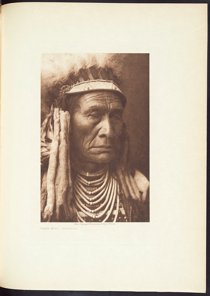 The Apsaroke, or Crows. The Hidatsa, 1909