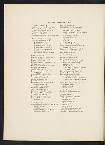 The Nootka. The Haida, 1916