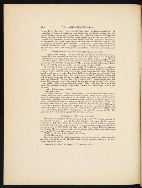 The Hupa. The Yurok. The Karok. The Wiyot. Tolowa and Tututni. The Shasta. The Achomawi. The Klamath, 1924