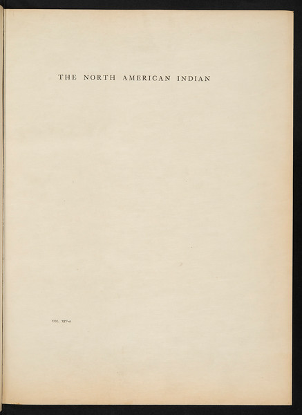 The Kato. The Wailaki. The Yuki. The Pomo. The Wintun. The Maidu. The Miwok. The Yokuts, 1924