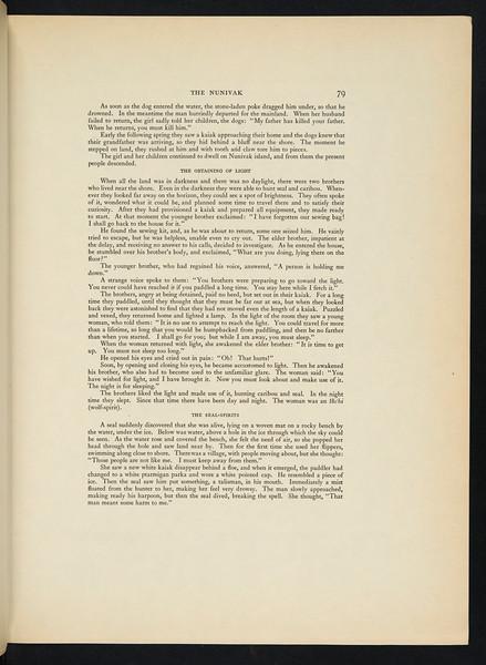 The Alaskan Eskimo. The Nunivak. The Eskimo of Hooper Bay. The Eskimo of King Island. The Eskimo of Little Diomede Island. The Eskimo of Cape Prince of Wales. The Kotzebue Eskimo. The Noatak. The Kobuk. The Selawik, 1930