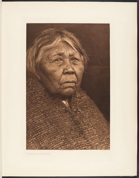 The North American Indian, vol. 9 suppl., pl. 298. Hleást?n?h - Skokomish