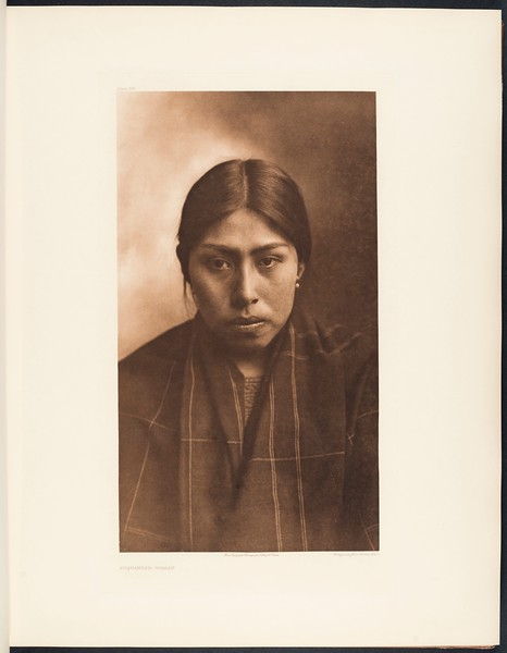 The North American Indian, vol. 9 suppl., pl. 305. Suquamish woman
