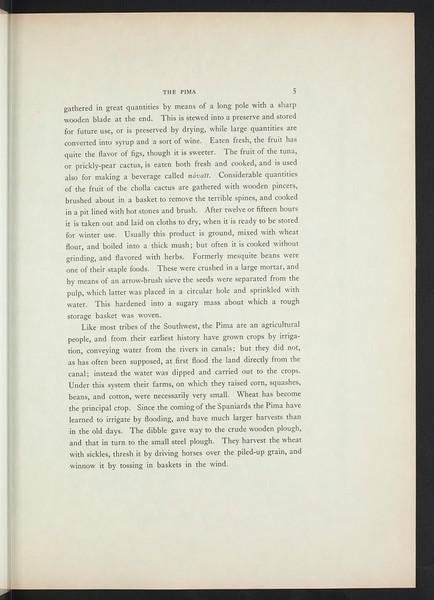 The Pima. The Papago. The Qahatika. The Mohave. The Yuma. The Maricopa. The Walapai. The Havasupai. The Apache-Mohave, or Yavapai, 1908