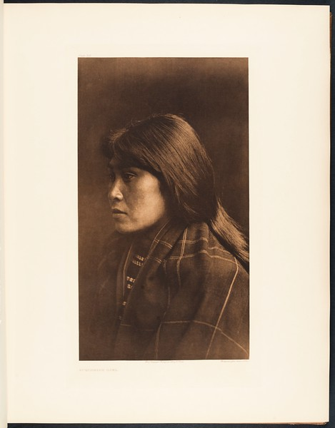 The North American Indian, vol. 9 suppl., pl. 306. Suquamish girl