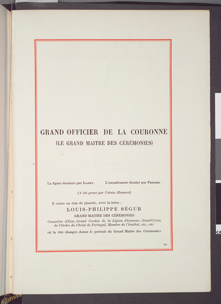 Grand officier de la couronne