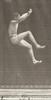 Man in pelvis cloth jumping and kicking