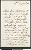 Max Bruch, letter, 1881 Feb. 3 to Herr Goldschmidt