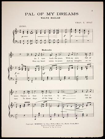 Pal of my dreams: waltz ballad