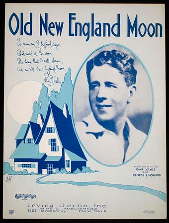 Old New England moon