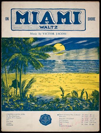 On Miami shore: waltz