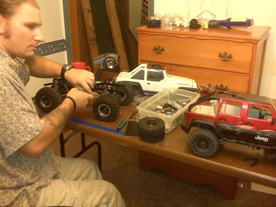 Jeep JK scale RC rig