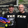Caleb Jennings,19, of Athol stands alongside his mechanic and father Clayton Jennings after winning first overall in Stadium Truck during this weekends JConcepts Indoor Summer National Championship at RC Excitement in Fitchburg where they faced some of the best drivers in the country for the top spot. SENTINEL & ENTERPRISE JEFF PORTER