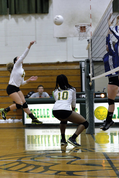 RC Girls Volleyball vs Cranford 10/2/2014