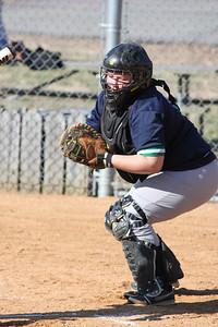 Melissa Coates, THE catcher!