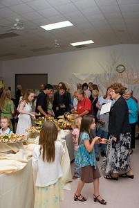 2008 Easter Vigil Reception