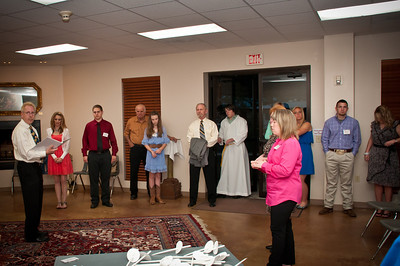 Easter Vigil Reception