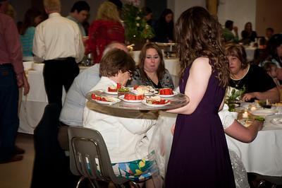 Easter Vigil Reception
