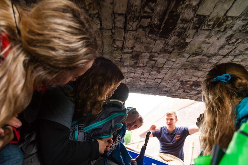 Прогулка на лодке по каналам Кентербери