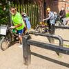 Препятствие на велодорожке