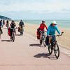 Велодорожка вдоль океана