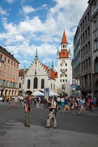 Munchen, Marienplatz