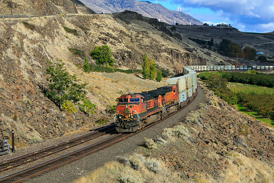 BNSF 985 West at Mary Hill, WA