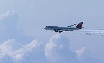 Delta 747-400 JFK-NRT